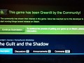 The Guilt and the Shadow has been Greenlit!