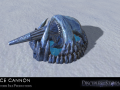 Disciples of the Storm: New Ice Cannon Modeled ready for promo