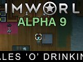 RimWorld Alpha 9 - Tales 'o' Drinking released