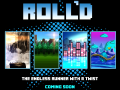 Roll'd: the endless runner with a twist