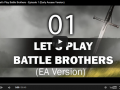 Early Access Preview: Let's Play Battle Brothers Episode 1