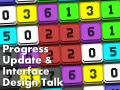 Progress Update & Interface Design Talk
