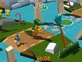 Cartoon Survivor: Jurassic theme