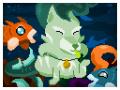 Sea Puppies [Devlog] Pixelating the UI