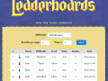 Official website launched with functional leaderboards!