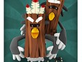 Character of the day: Wood Birds