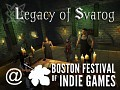Boston Festival of Indie Games and New Features added