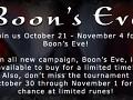 Boon's Eve