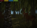 Development Spoiler 13# Save and Load System and First Person Animal Survival