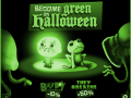Become Green This Halloween