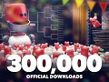 300,000 official downloads of Table Tennis Touch