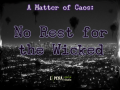 Kickstarter launched for 'A Matter of Caos: No Rest for the Wicked'