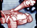 Scribbled Arena Character design