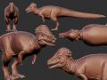 Saurian Pachycephalosaurus reveal