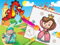 Princess Coloring Book games for girls