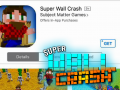 Super Wall Crash Available on iOS!