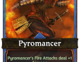 The Pyromancer begins her journey towards the Labyrinth