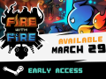 Fire With Fire Tower Attack and Defense on Steam Early Access March 29