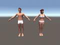 Character Model Progression