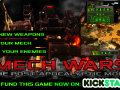 Mech Wars on Kickstarter
