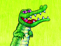Turning a Cartoon Crocodile into a Cold-Blooded Killer!