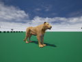 Root Motion Lioness