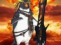 New Minotaur character, Unter, and his amazing Paulcaster guitar