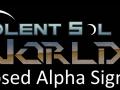Violent Sol Worlds Alpha Test Signup Developer Update
