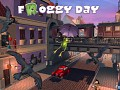 """""""Froggy Day"""" - a day when frogs fly!"""