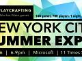 Luminosity will be at Playcrafting NYC Summer Expo