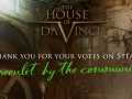 The House of Da Vinci's success on Steam and Kickstarter