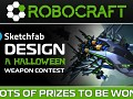 ROBOCRAFT: Design a Halloween Weapon Sketchfab Competition