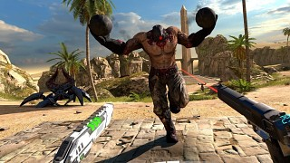 Croteam's HTC Vive Exclusive Serious Sam VR Launches Next Month