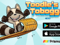 Download and Play Toodle's Toboggan on October 4th for iPhone and Android Devices