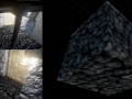Baking normal and ambient occlusion maps in Blender