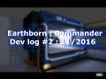 Dev log #2 Earthborn : Commander - 11/2016 - The commander's room