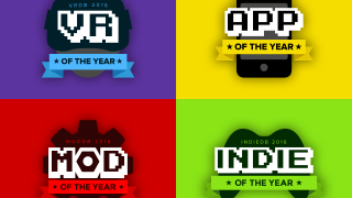 Crafting the 2016 award logos
