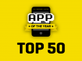 Top 50 Apps of 2016 Announced