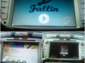 Fallin on a car's multimedia device