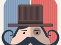 v1.5 Now available on the App Store - Mr. Mustachio is back in his original avatar!