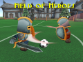 Field of Heroes online soccer MOBA now on itch.io!