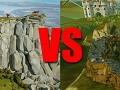 Rock of Ages 2: Bigger & Boulder [Dev Blog #11] - Level comparison: Scotland vs Wallachia