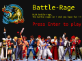 Presentation of the fighting game: battle-rage.