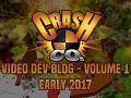 Crash Co. Video Dev Blog - Volume 1