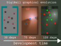 Digiball #1 Devlog, how it evolved during first 4 months
