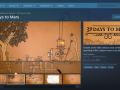 Steam Page & Menus