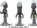 Multiverse: Cosmic Conquest CCG alien races concept art