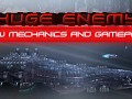 HUGE ENEMY - New gameplay mechanics for Shmup.