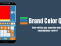 Brand Color Quiz, out today!