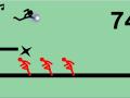 stickman fly kick